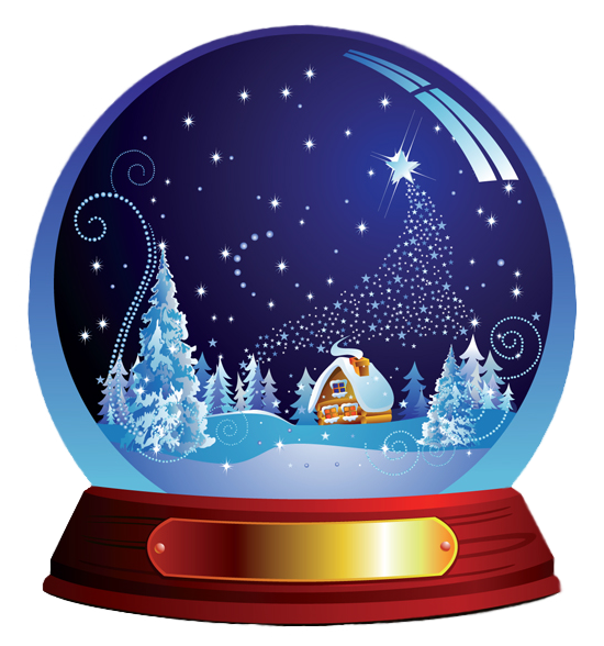 snowglobe drawing printable