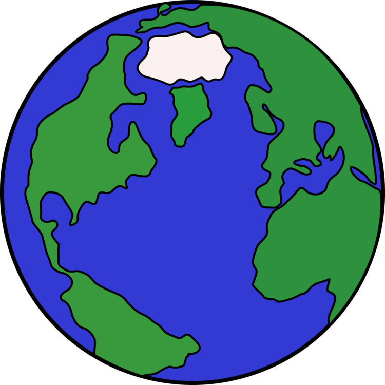 Planet svg cartoon. Globe earth drawing free