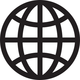 Globe outline png. Icon shop download free