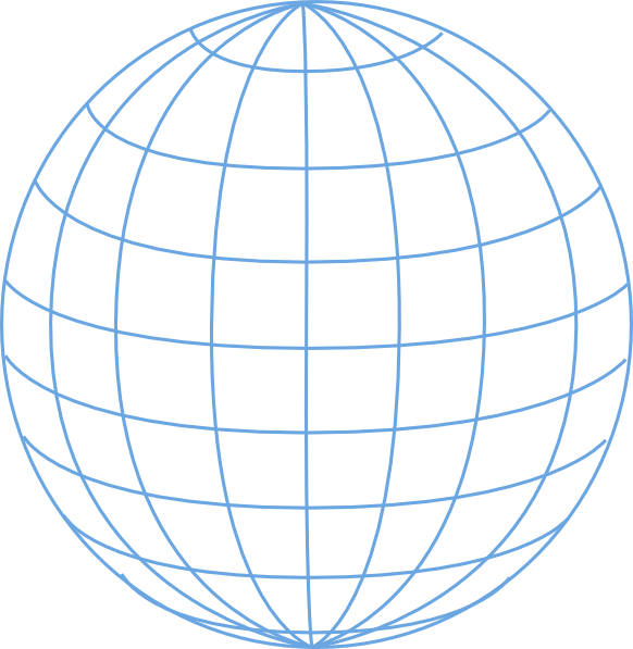 Globe outline png. Clipart