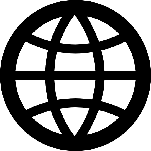 Globe outline png. Free interface icons icon