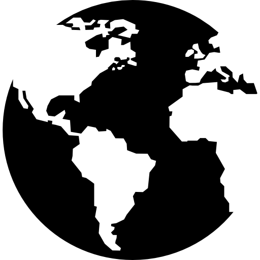 Globe png black and white. Maps flags flat icon