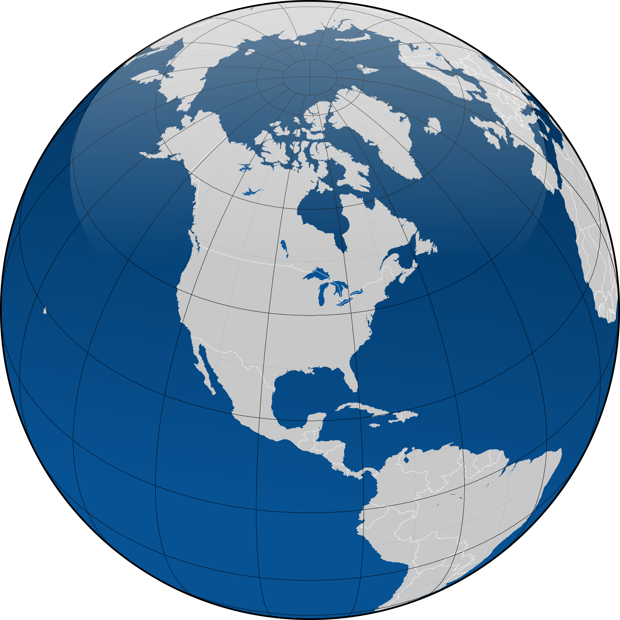 Globe vector png. With borders icons free