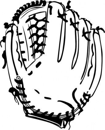 Sports clipart glove. Free baseball and vector