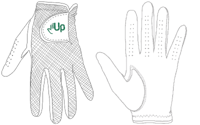 Golf clipart golf glove. The best with top