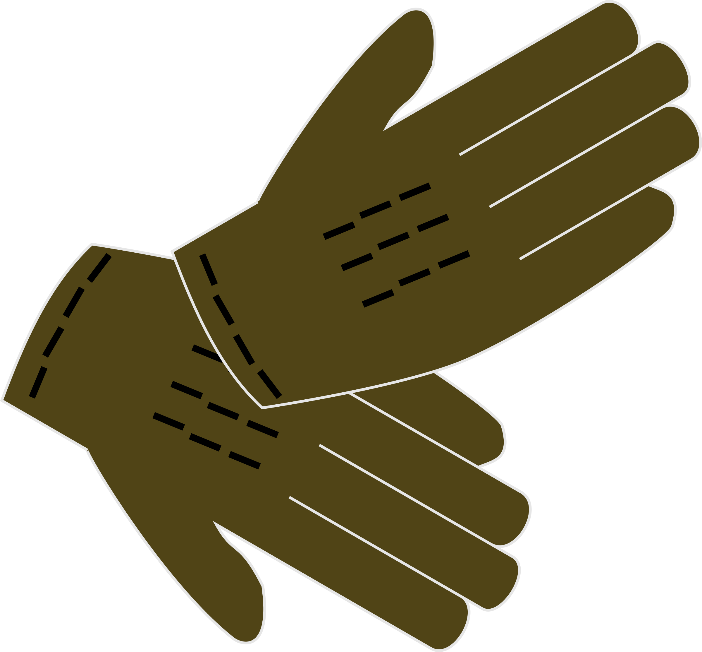 Glove vector golf. Clipart gloves big image