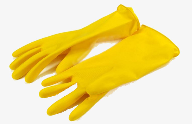 Glove clipart yellow glove. Gloves product kind rubber