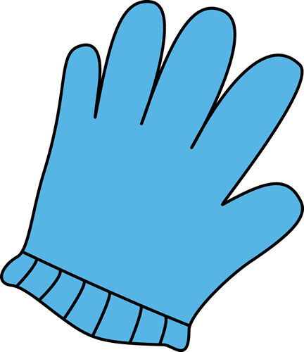 glove clipart yellow glove