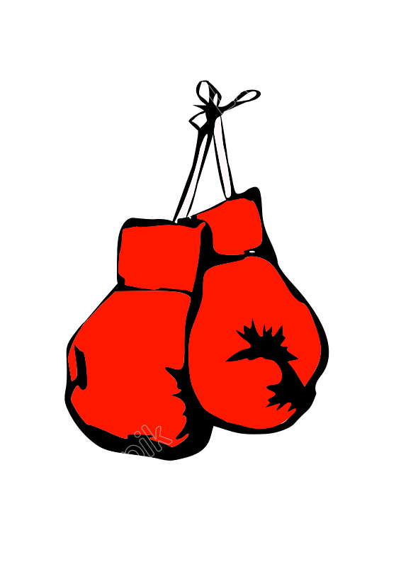 Mma Vector Svg Picture 1132059 Glove Vector