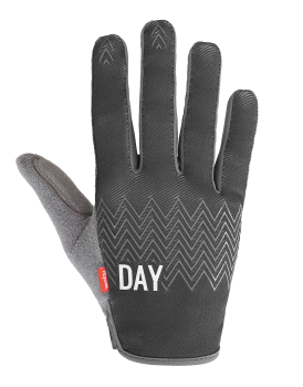 Glove vector bike. Rocday clothing we are