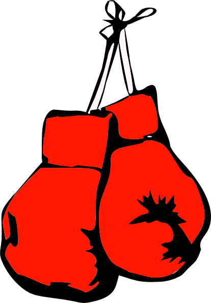 Gloves clipart. Boxing clip art at