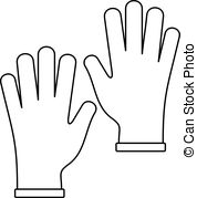 Medical vector eps images. Gloves clipart clipart freeuse download
