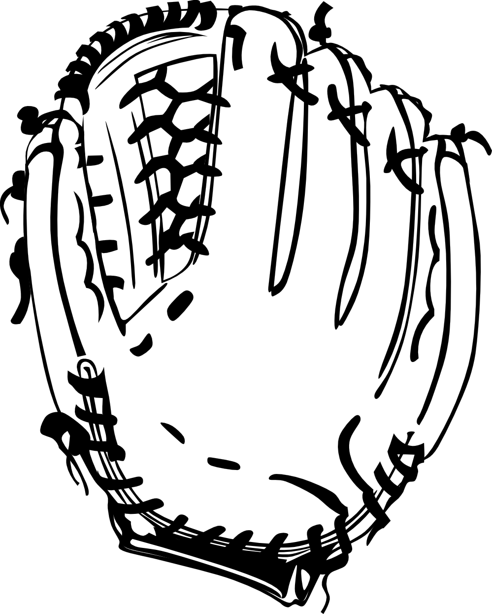 Glove vector hockey. Free baseball pictures download