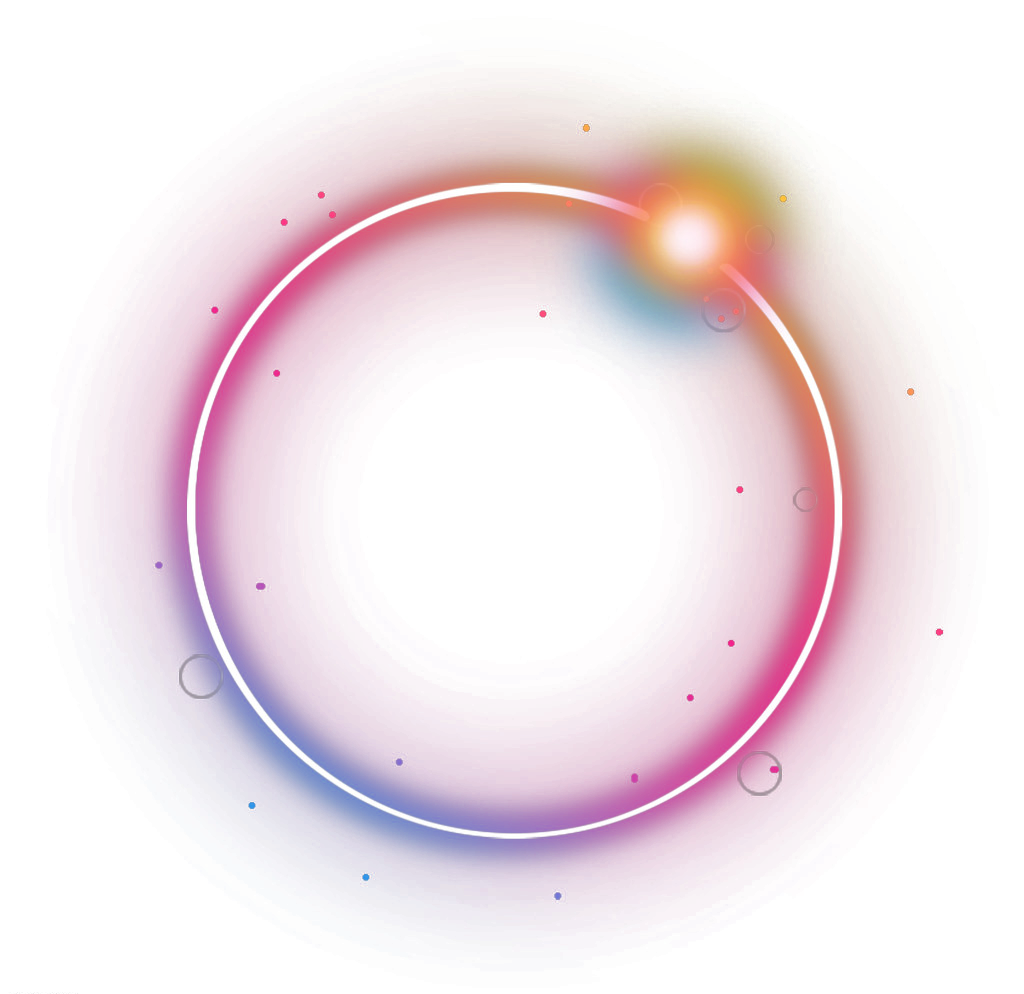 Glow circle png. Lighteffect ftestickers