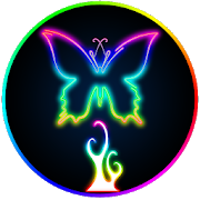 Glow drawing. Neon apps on google