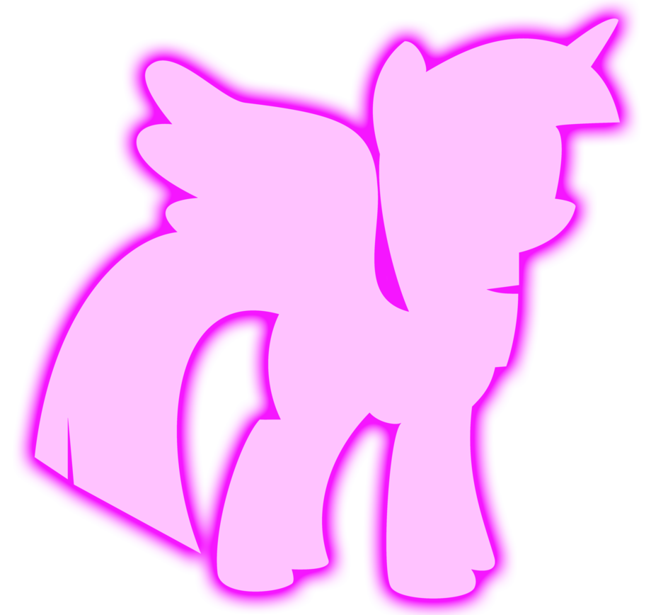 Glow vector magic. Twilight sparkle by missbeigepony