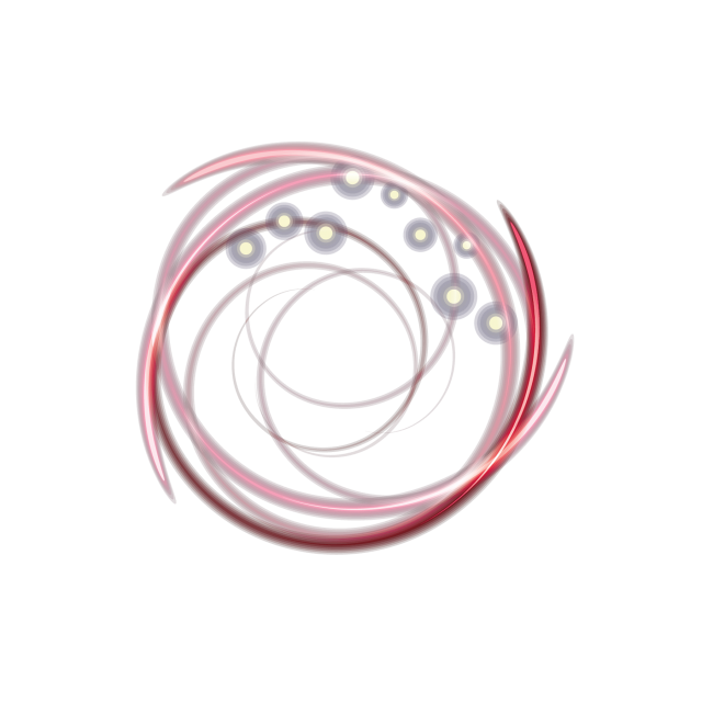 Glow vector round. Red circle lights png