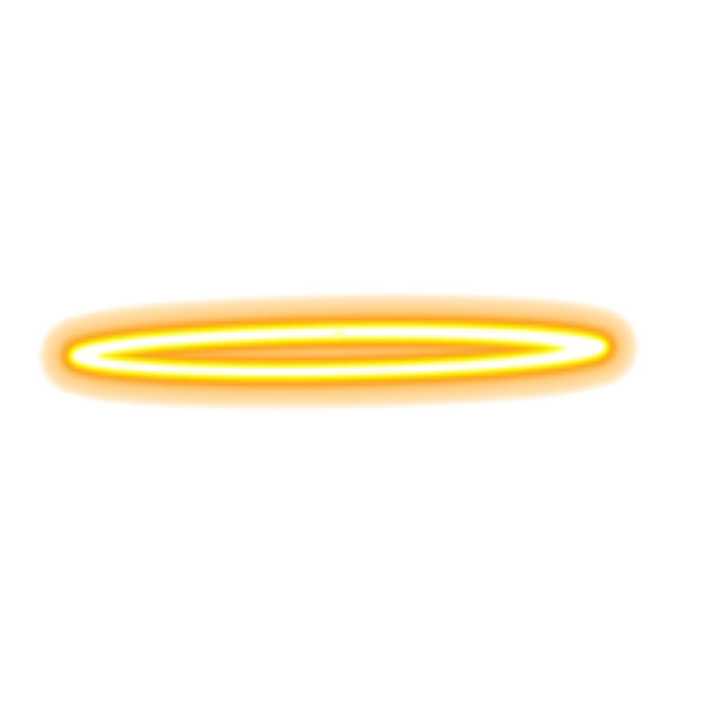 glowing angel halo png