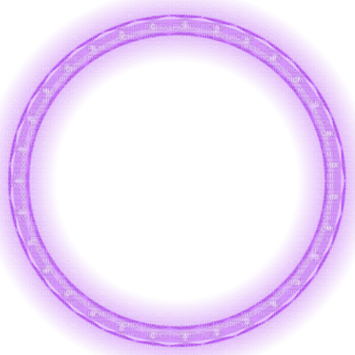 Glowing circle png. Purple lights frame christmas