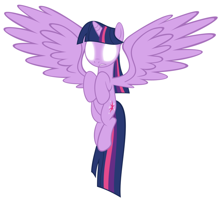 Image alicorn twilight sparkle. Glowing eyes meme png vector royalty free download