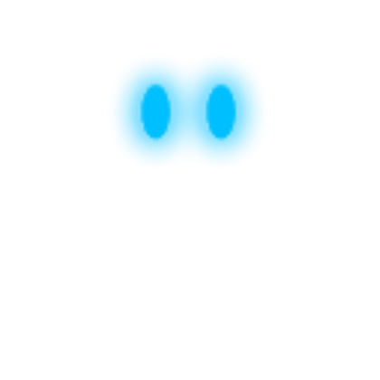 Glowing eyes png. Blue roblox