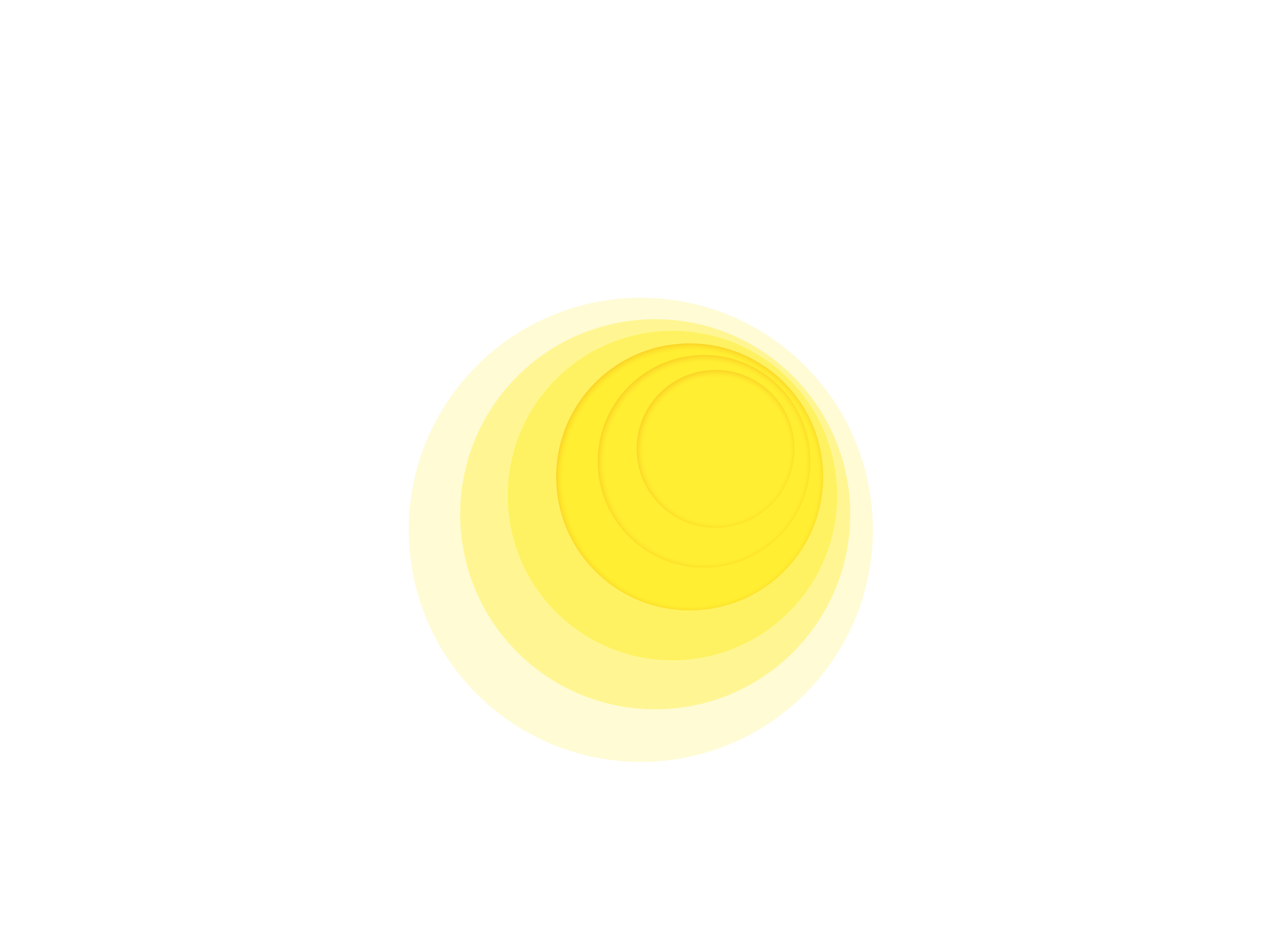 Glowing halo png. Yellow light glow transprent