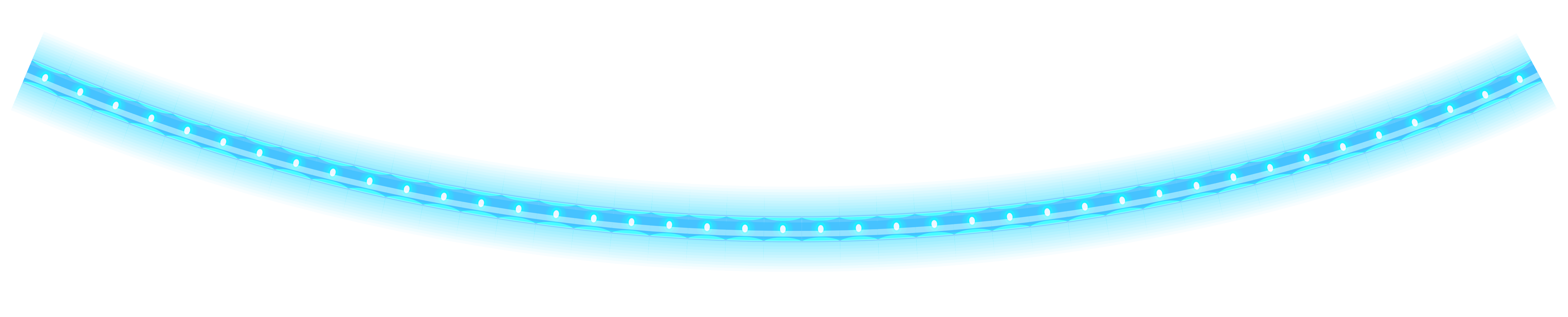 Glowing line png. Blue christmas tube clipart