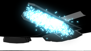 Glowing particles png. Rendering texturing and lighting