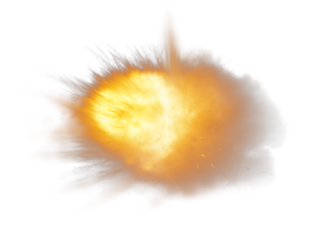 Glowing particles png. Dust explosion particle splash