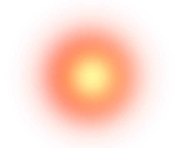 Glowing red dot png. Color balls and glow