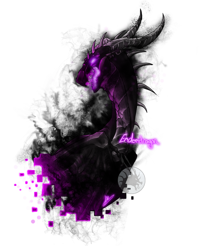 Glowing spine png. Ender dragon favourites by