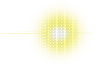 Glowing transparent. Yellow light glow png
