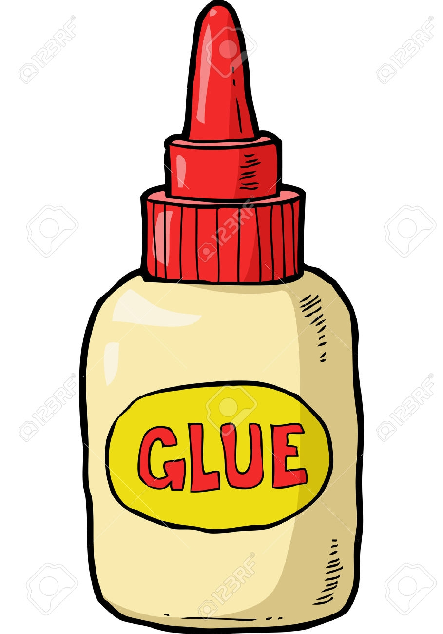 Glue clipart red. New collection digital coloring