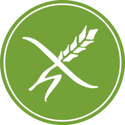 Gluten free logo png. Haubis and lactose bread