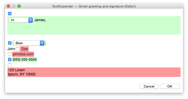 Gmail not loading png snippets. Github jamesmclendon textexpander salutations
