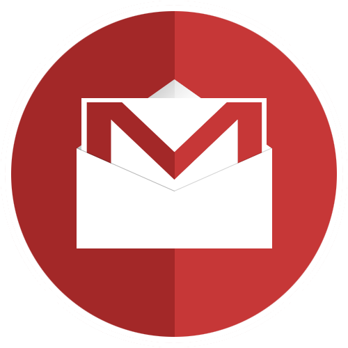 Gmail png. Icon flat circles pack