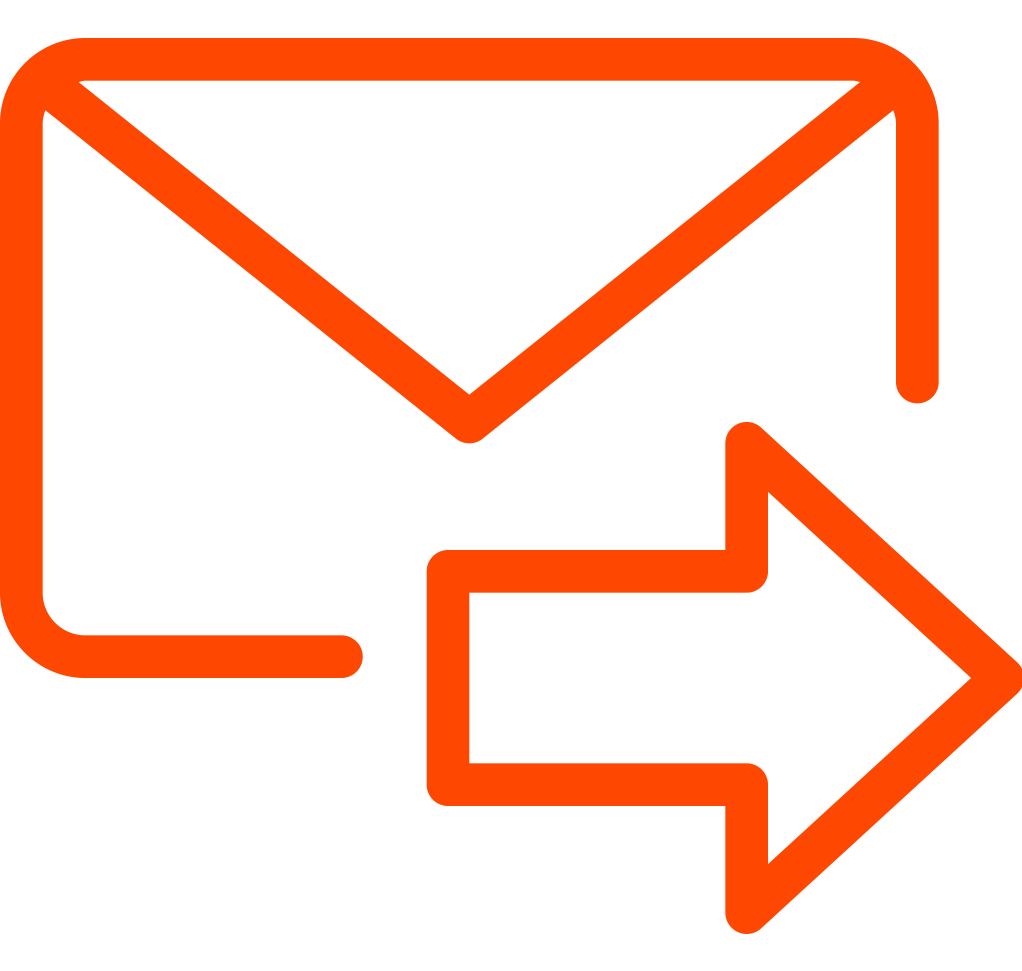 Gmail png icon. How to forward multiple