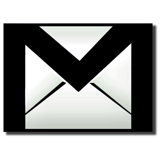 Gmail png transparent background. Black icon free icons