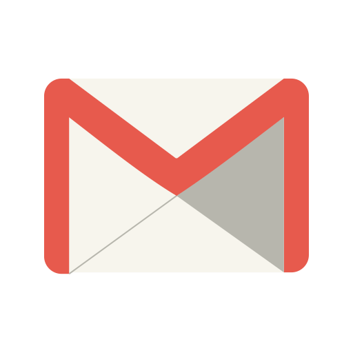 Gmail png transparent background. Social media black icon