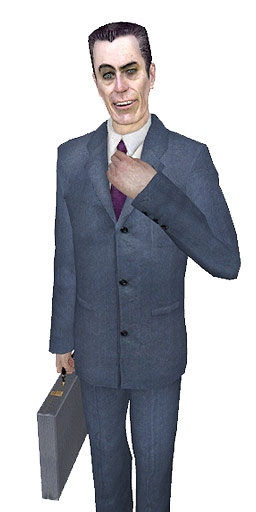Gmod character png. Gman know your meme