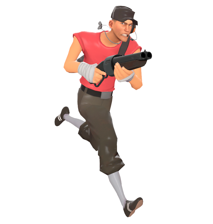 Gmod character png. Scout garry s mod