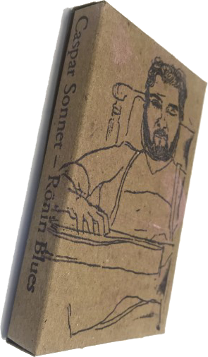 Bookmark drawing sketch. Caspar sonnet ronin blues