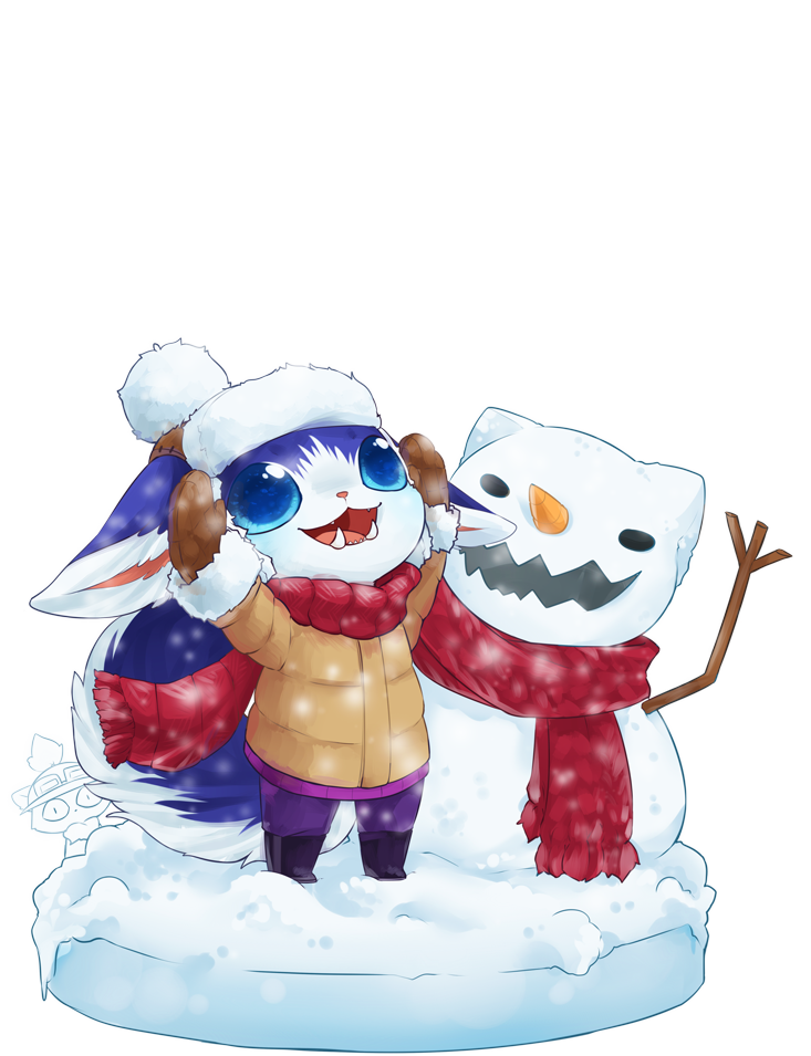 Gnar drawing snow day. In the by mousu