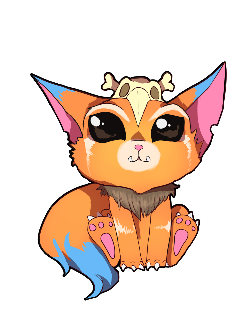 League of legends fan. Gnar drawing clip freeuse
