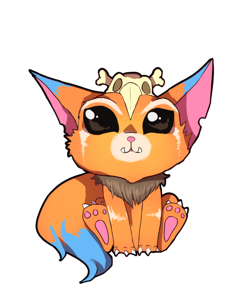 League of legends fan. Gnar drawing splash art clip art freeuse stock