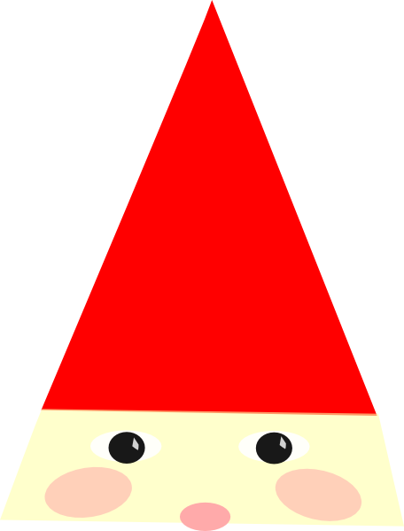 Gnome clipart gnome hat. Clip art at clker