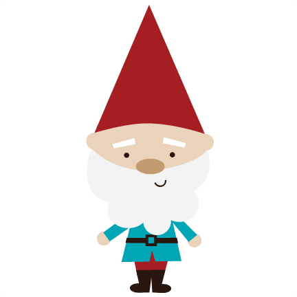 Gnome vector clip art. Library huge freebie