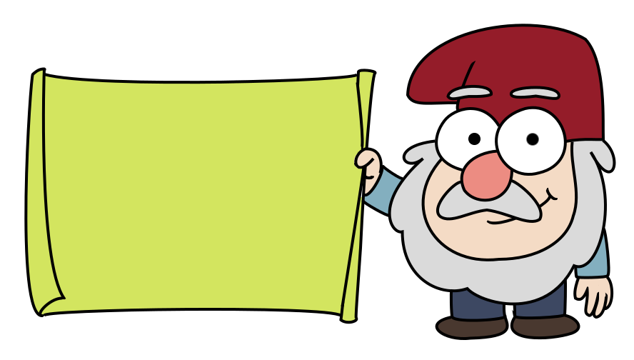 Gnome vector gravity falls. Library huge freebie