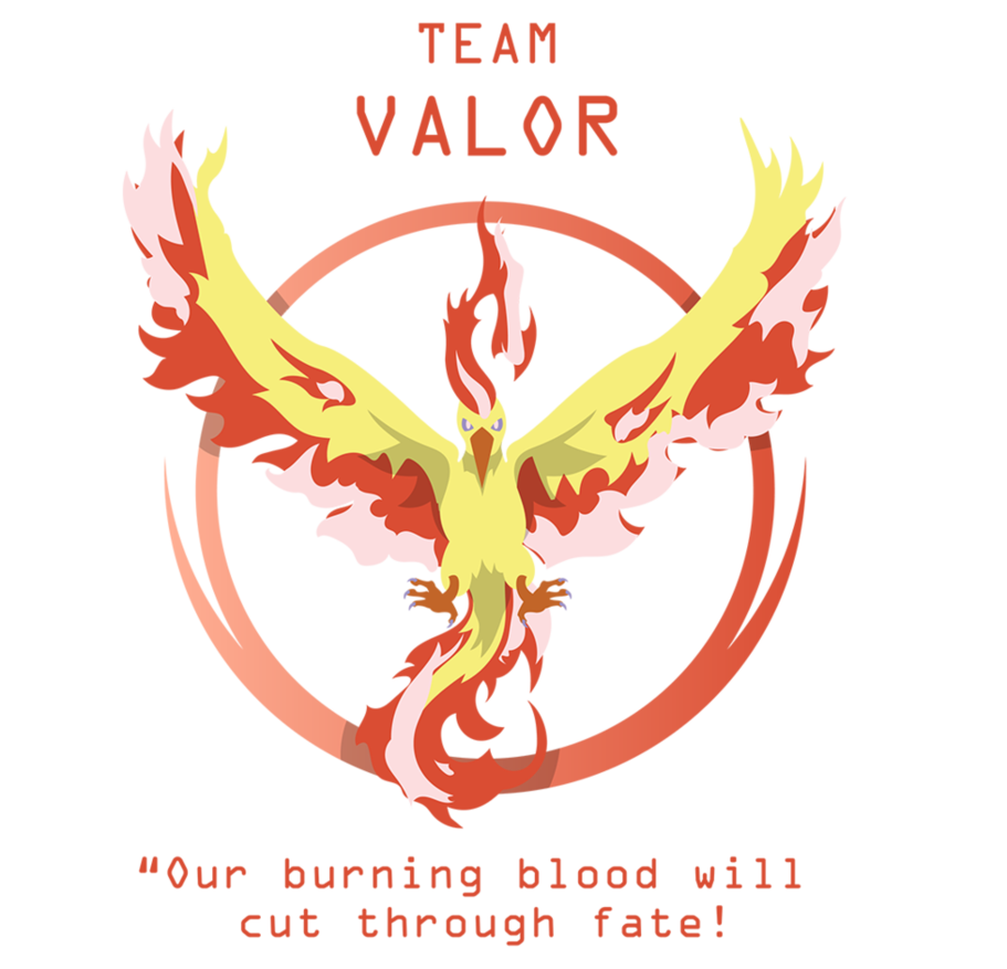 Go clip team. Pokemon valor by octagoncalibrator