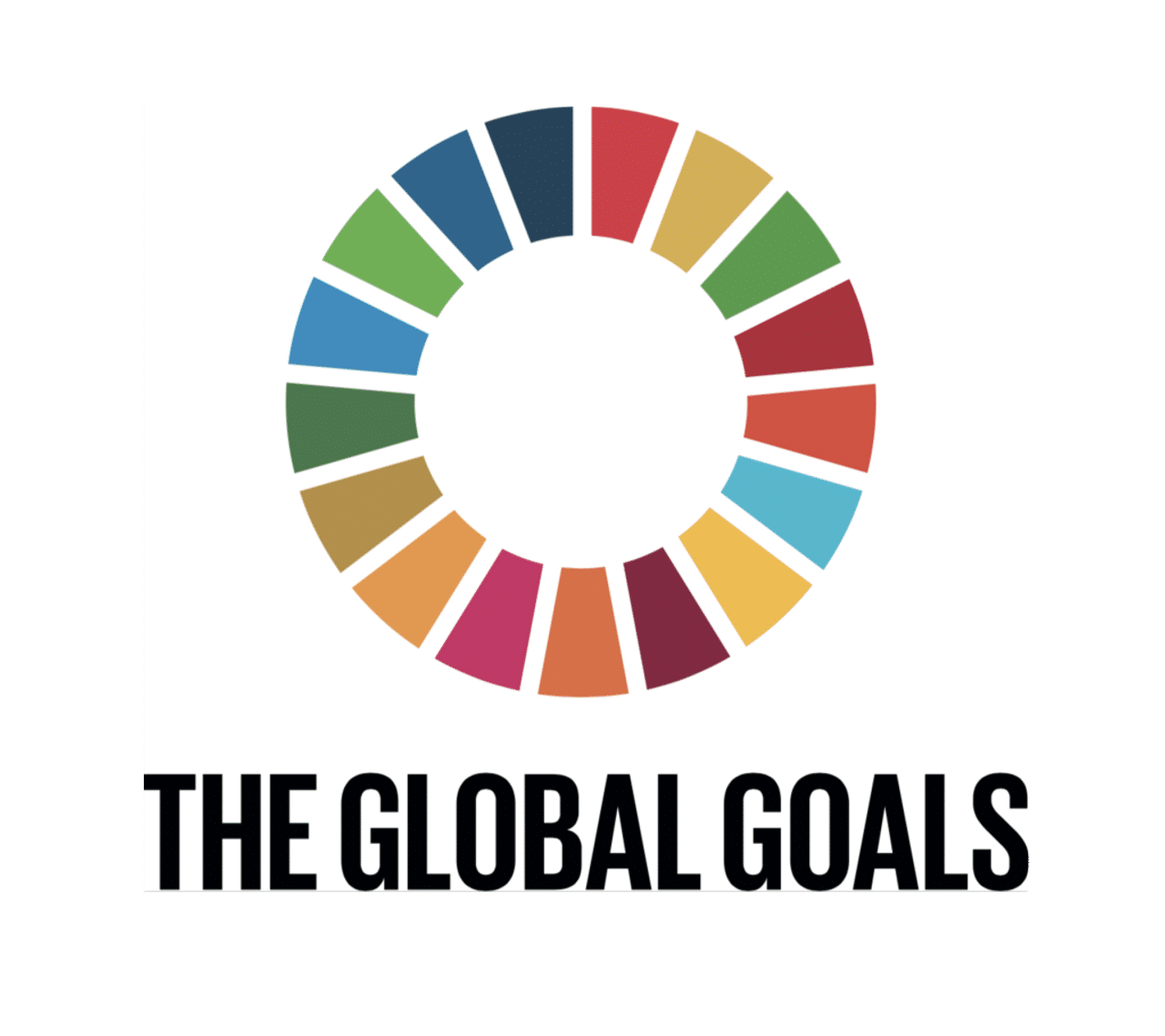Goal vector logo. Resources the global goals